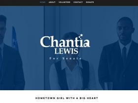 Chantia Lewis Senate Website