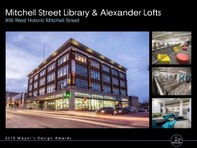 Mitchell Street Library and Alexander Lofts