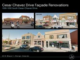 Cesar Chavez Drive Facade Renovations