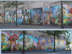 MCC Youth Artists United Mural