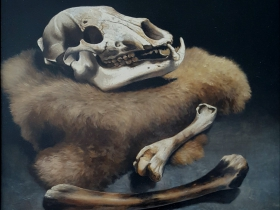 """Bare (Bear) Bones"" by Jody Reid."