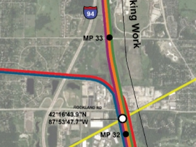 Rondout Interlocking 2020 Map