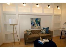 Water Street Lofts Living Room