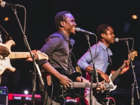 Aliou Touré of Songhoy Blues
