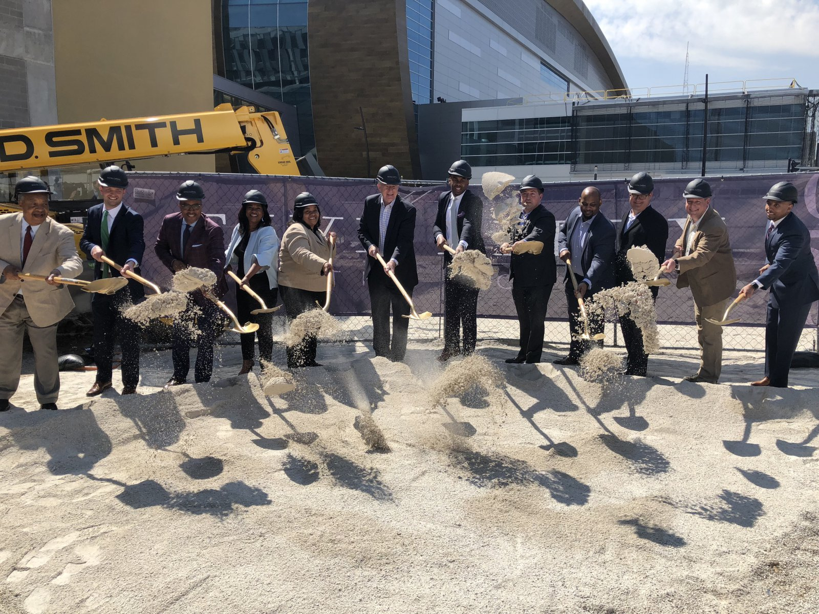 Five Fifty Ultra Lofts Groundbreaking