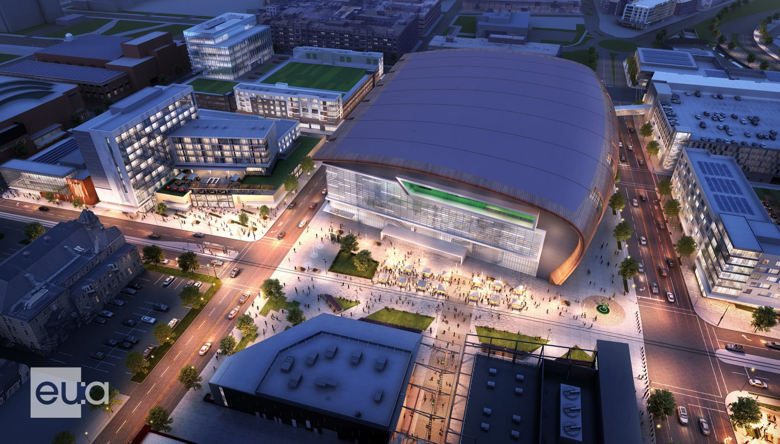 Fiserv Forum Master Plan