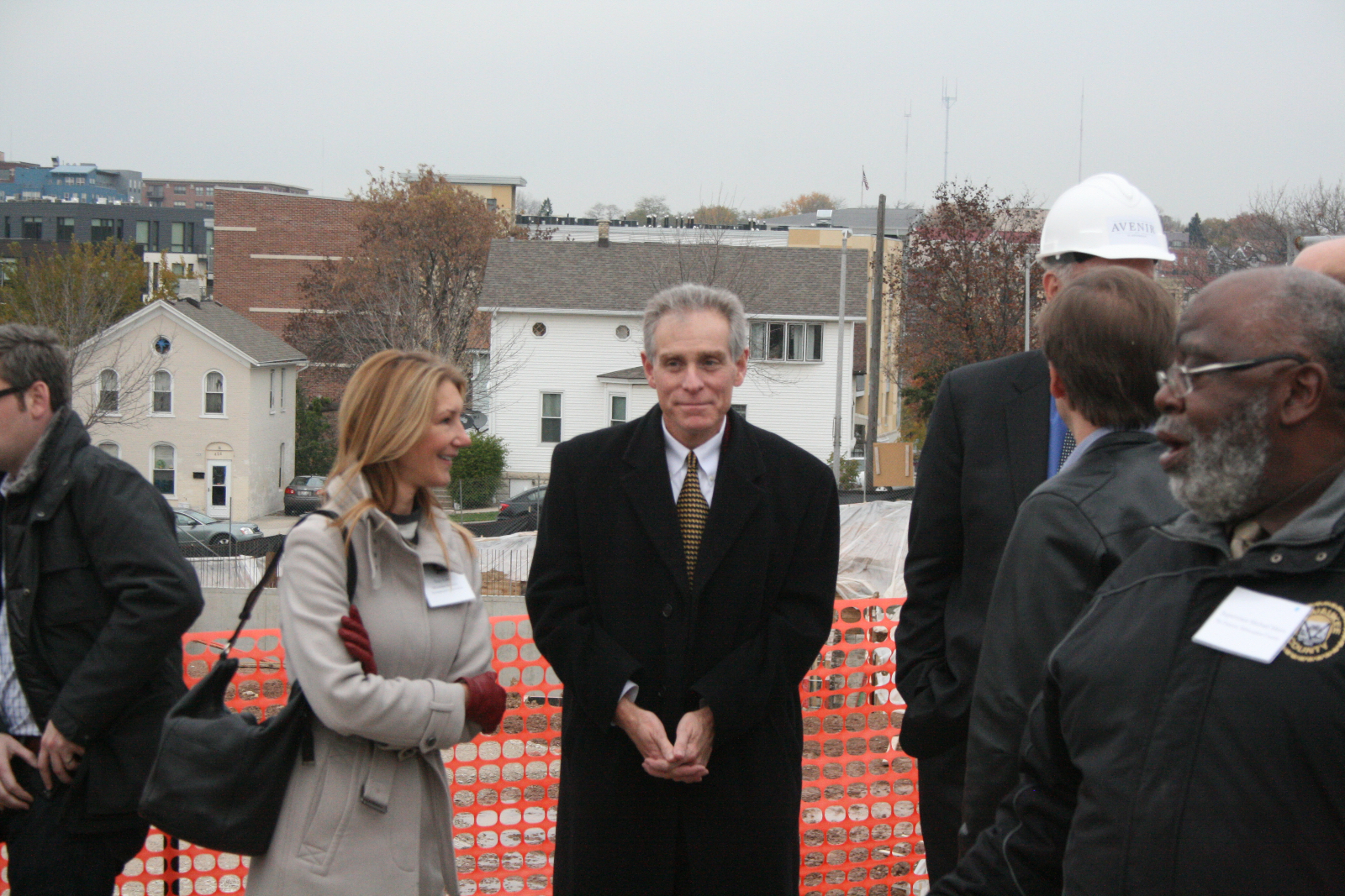 Jeff Fleming at the Avenir groundbreaking.