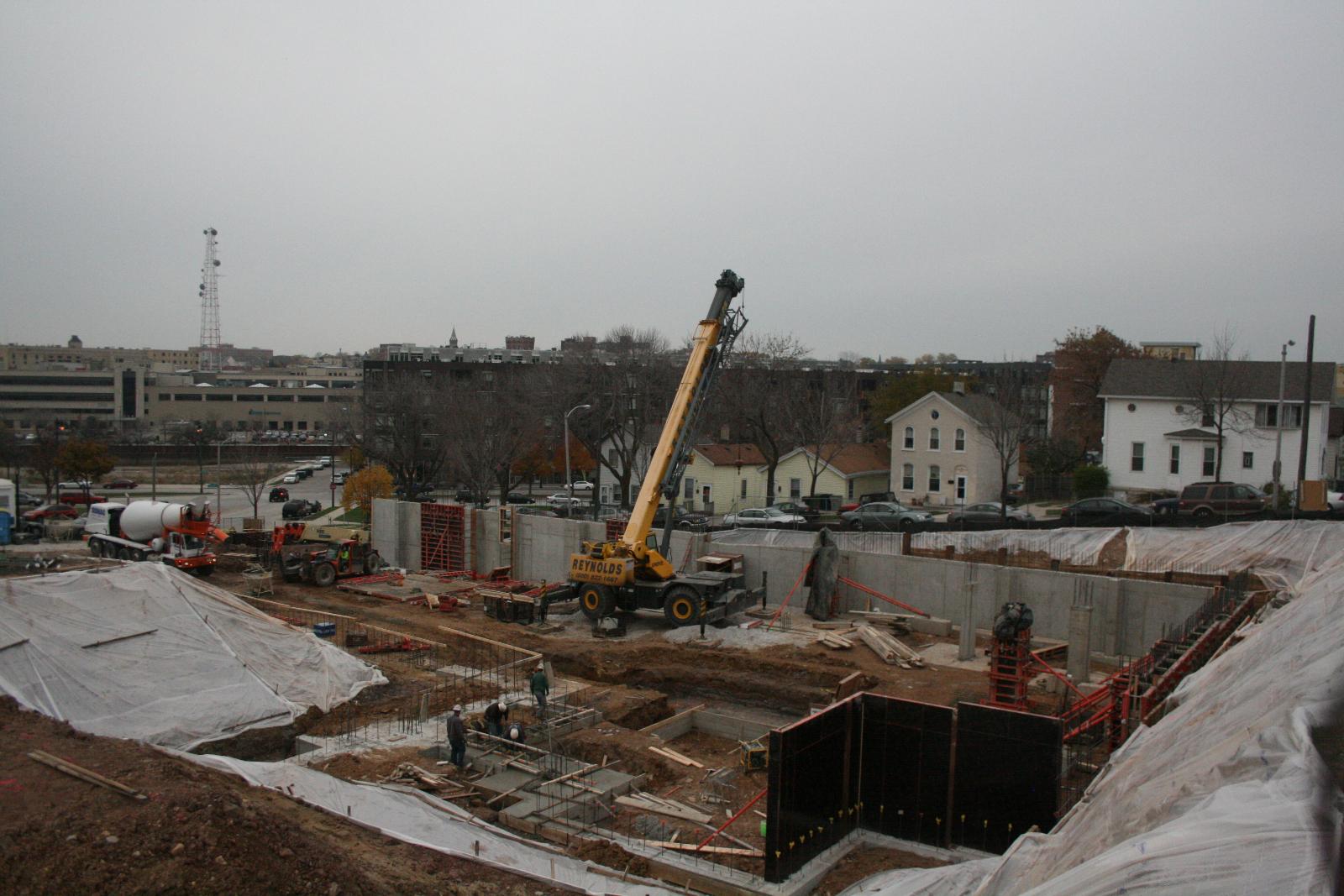 Work is underway at the Avenir site.