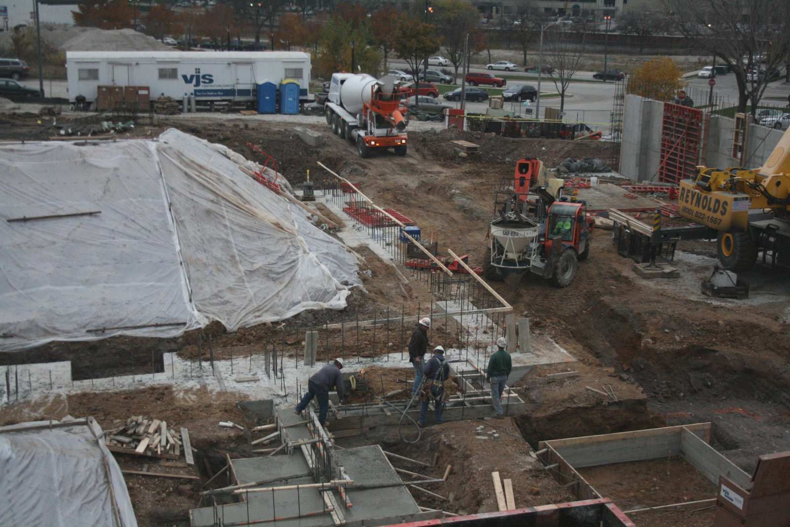Construction has started on the Avenir.