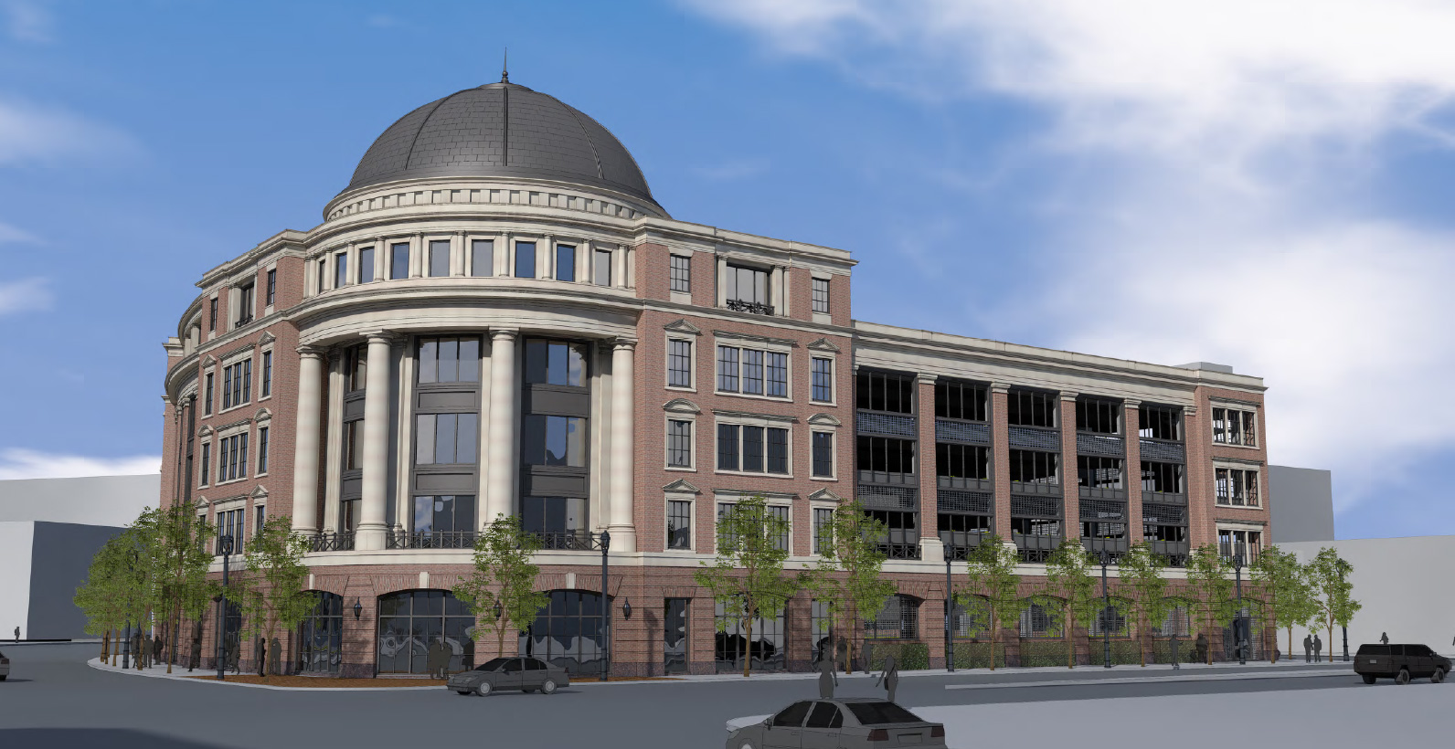 Revised Hammes Company HQ Rendering