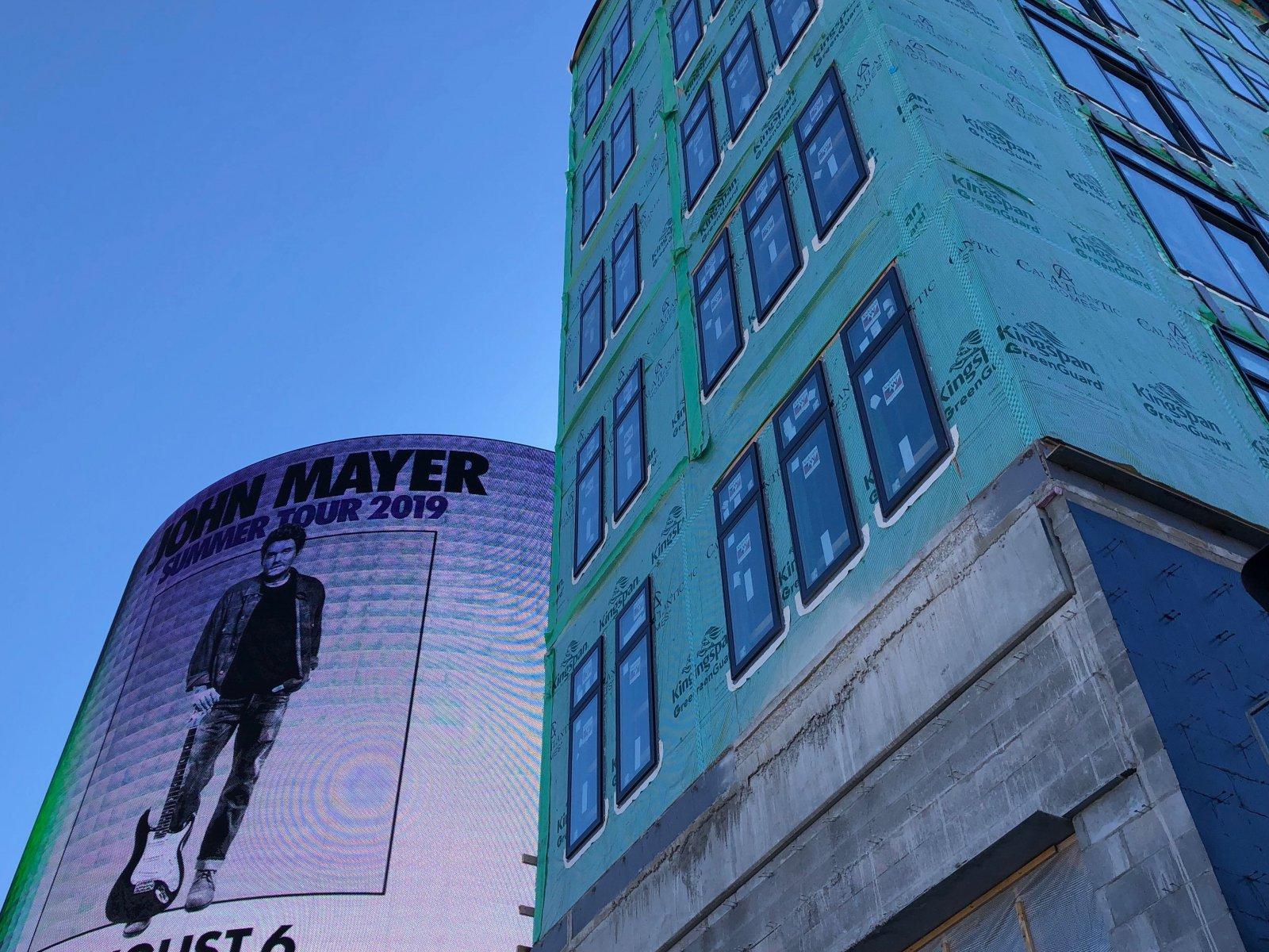 Billboard and Five Fifty Ultra Lofts
