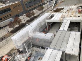 Five Fifty Ultra Lofts Construction