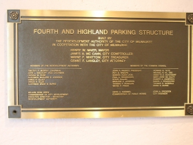 4th and Highland Parking Structure