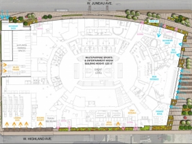 Arena Site Plan