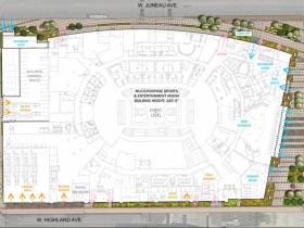 Arena Site Plan