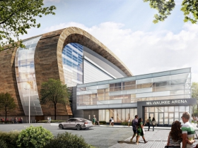 New Bucks Arena