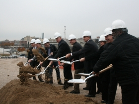 Photo Gallery: Ground Breaking Day in the Park East