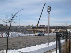 Construction of the Avenir.