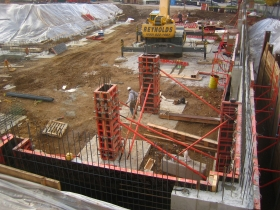 Construction has started on the Avenir in the Park East.