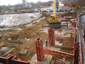 Avenir is under construction.