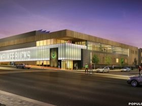 Milwaukee Bucks Training Facility Rendering