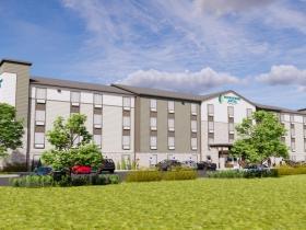 124th Street WoodSpring Suites Rendering
