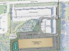 11601 W. Bradley Rd. Site Plan