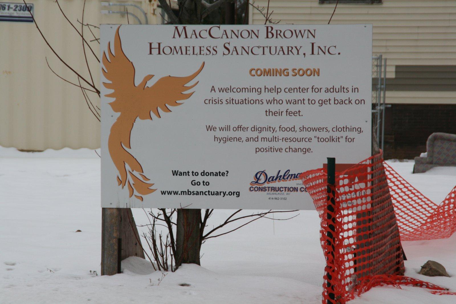 MacCanon Brown Homeless Sanctuary