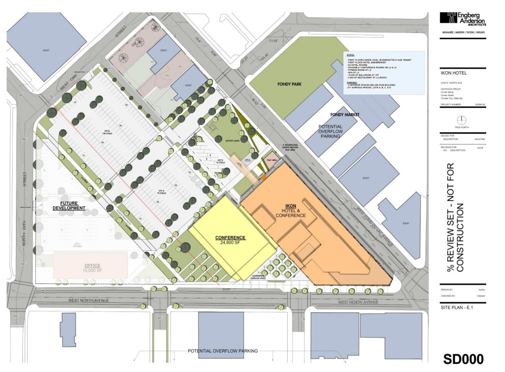 One MKE Plaza Site Plan