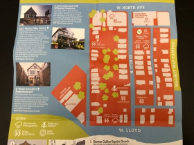 Eco-Tour Map for Lindsay Heights