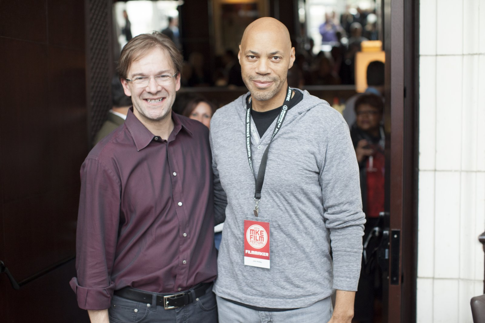 Chris Abele and John Ridley