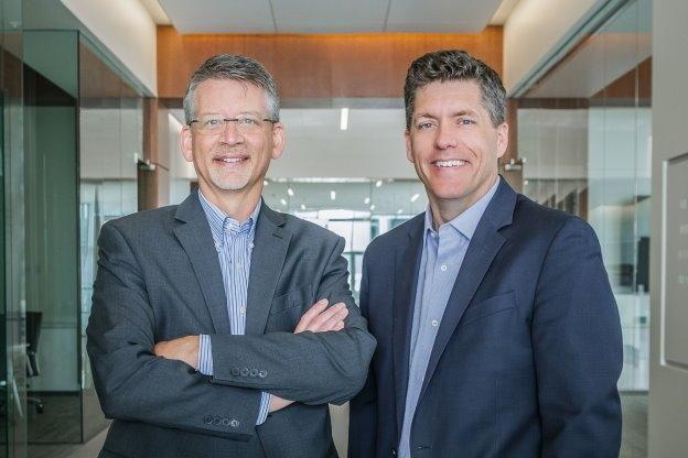 Al Krueger and Glenn Roby