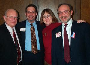 Tom Ament, Rich Abelson, LeAnn M. Launstein and Robert Krug