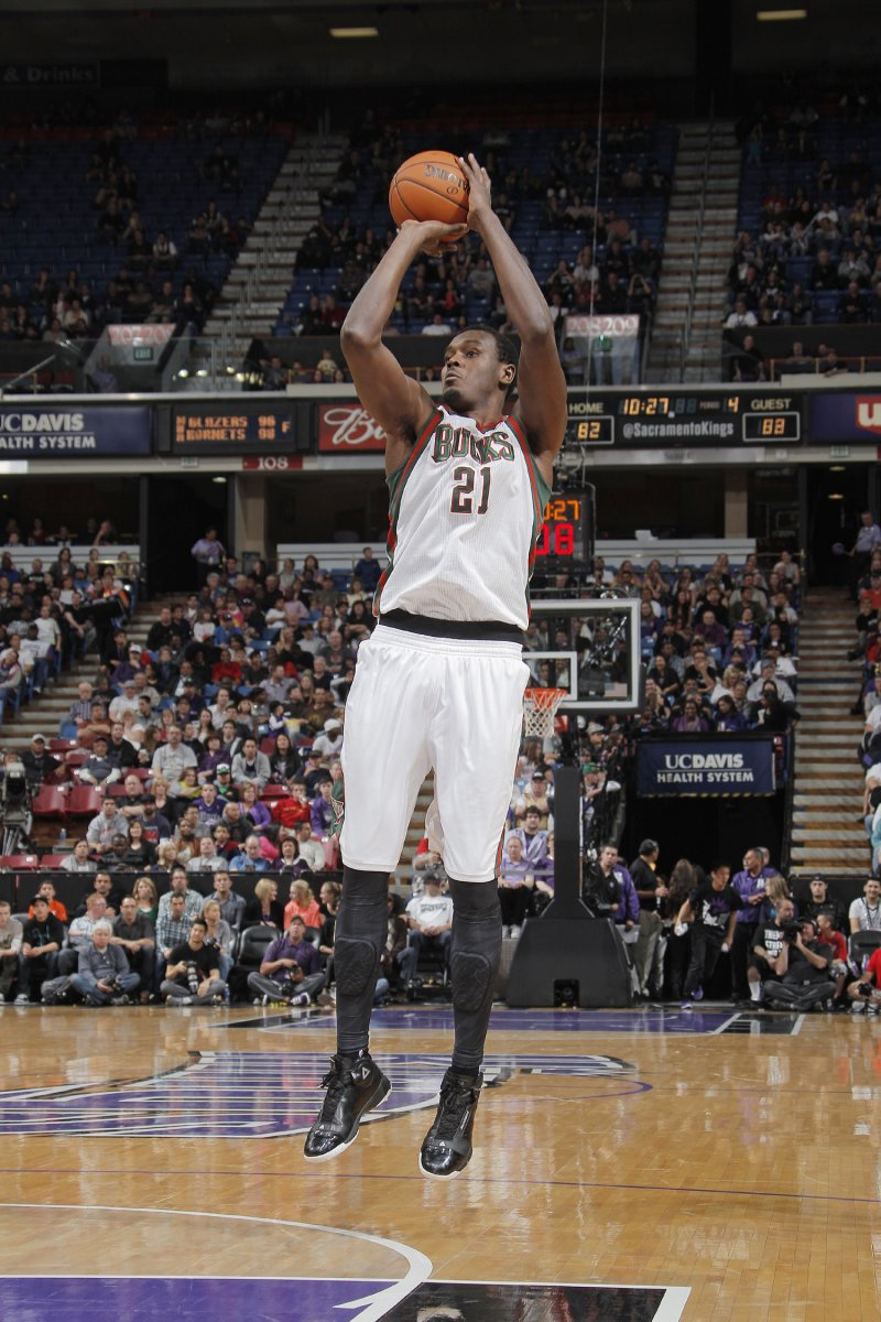 Samuel Dalembert. Photo courtesy of Milwaukee Bucks/NBAE.
