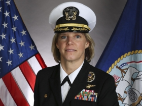 Amy Bauernschmidt. Photo Courtesy of the Navy Office of Community Outreach.