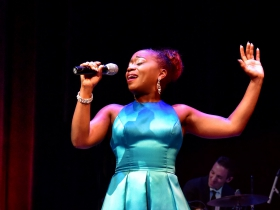 First Lady of Song: Alexis J Roston Sings Ella Fitzgerald starring Alexis J Roston. Presented by Artists Lounge Live