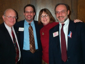 Tom Ament, Rich Abelson, LeAnn M. Launstein and Robert Krug