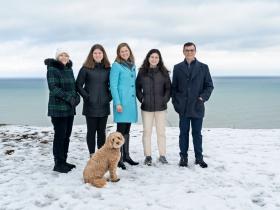 Deb Andraca's family