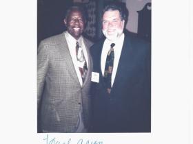 William A. Durkin, Jr. and Hank Aaron