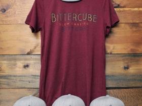 Bittercube caps and tee shirts.