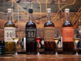 Heirloom Liqueurs in the Bittercube Bazaar.