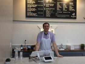 Nate Arkush, Managing Partner of FreshFin Poké.