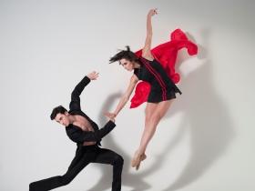Garrett Glassman and Rachel Malehorn.