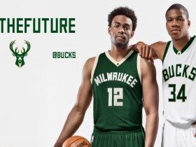 Jabari Parker and Giannis Antetokounmpo