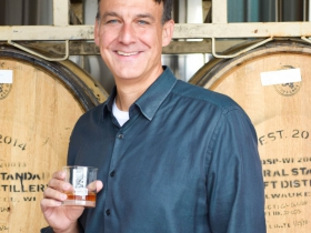 Jim Kanter CCO of Central Standard Craft Distillery.