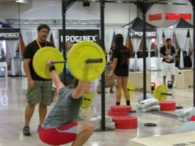 Jason Scuglik in the Pantheon Competition in Miami.