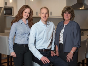 Sara Baumgartner, Jay Baumgartner and Julie Baumgartner