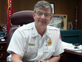Milwaukee Fire Chief Mark Rohlfing