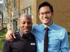 Rick Banks and Edgar Lin