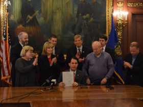 Governor Walker Signs Bill to Crack Down on Repeat Drunk Drivers
